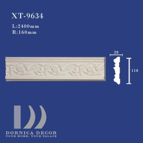 XT 9634 - ابزار دیواری طرح دار (قاب، کمربند میانی) XT-9634