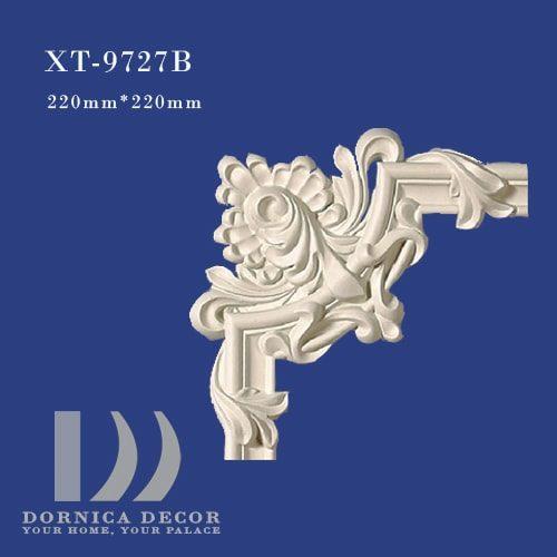 XT 9727B 500x500 - ابزار دیواری ساده پلی یورتان (گوشه قاب) XT-9727B