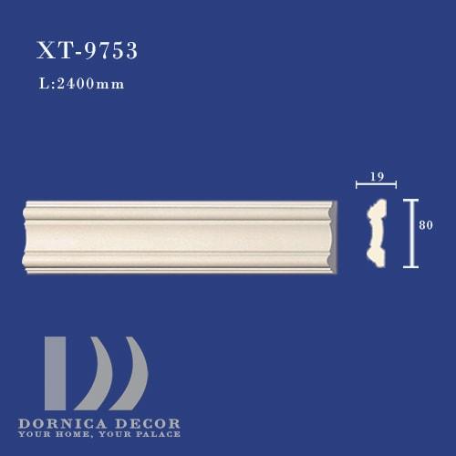 XT 9753 - ابزار دیواری ساده پلی یورتان (قاب، کمربند میانی) XT-9753