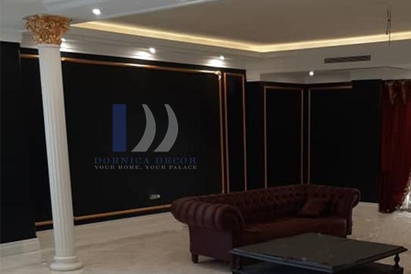 105 - پروژه مسکونی دیباجی، قاب بندی با ابزار پلی یورتان - درنیکا دکور