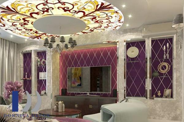 معماری 10 - ۹ ایده تزئین گچبری در طراحی داخلی با انواع سبک معماری