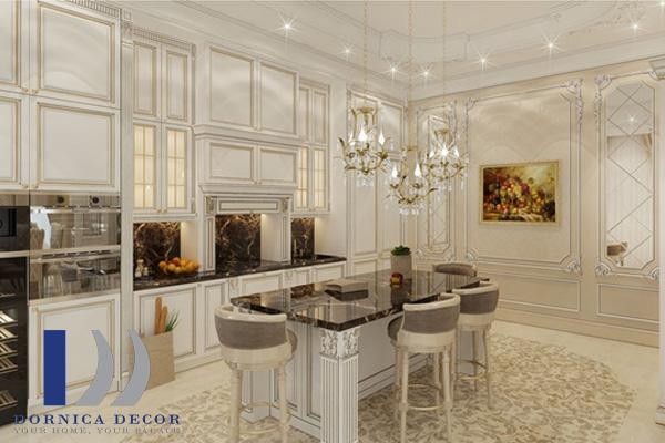 معماری 12 - ۹ ایده تزئین گچبری در طراحی داخلی با انواع سبک معماری
