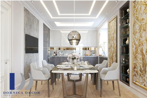 معماری 6 - ۹ ایده تزئین گچبری در طراحی داخلی با انواع سبک معماری