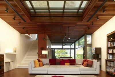 پانل چوبی سقف