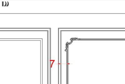 طراحی قاب دیوار با ابزار پلی یورتان