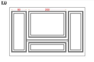 طراحی قاب بندی دیوار