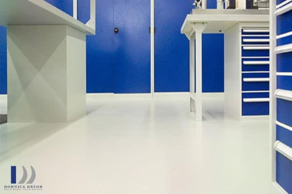 Polyurethanes are also used to coat floors